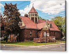 Emily Williston Memorial Library And Museum Acrylic Print