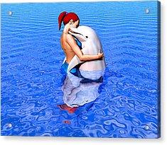 Emissaries Acrylic Print by Robby Donaghey