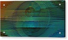 Radio Emission Acrylic Print