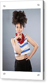 Emma Acrylic Print by Celebration Of African Women By Nubian Nights Out