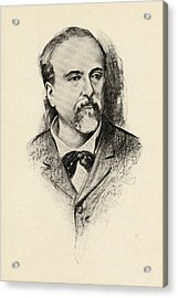 Emmanuel Chabrier, 1842-1894. French Acrylic Print by Vintage Design Pics