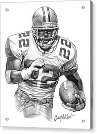 Emmitt Smith Acrylic Print