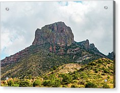 Emory Peak Chisos Mountains Acrylic Print