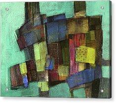 Colorful Acrylic Print by Behzad Sohrabi