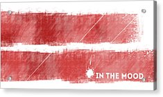 Emotional Art In The Mood Acrylic Print
