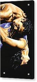 Emotional Tango Acrylic Print by Richard Young