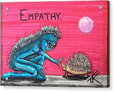 Empathetic Alien Acrylic Print