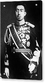 Emperor Hirohito, Of Japan, Portrait Acrylic Print by Everett
