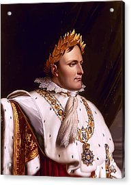Emperor Napoleon Bonaparte  Acrylic Print by War Is Hell Store