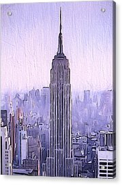 Empire Acrylic Print by Dan Sproul