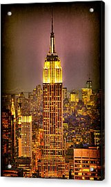 Empire Light Acrylic Print by Chris Lord