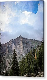 Empire Mountain, Sequoia National Forest Acrylic Print