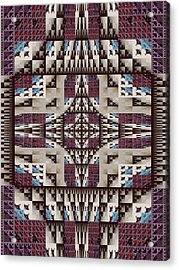 Empire Quilt Acrylic Print by Ricky Kendall