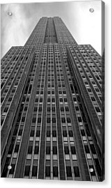 Empire State Building Acrylic Print by Mandy Wiltse