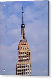 Acrylic Print featuring the photograph Empire State Building Observatory by Margie Avellino