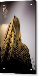 Empire State Building Acrylic Print by Patrick  Flynn