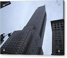 Empire State No 1 Acrylic Print by Dan Andersson