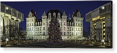 Empire State Plaza Holiday Acrylic Print