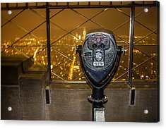 Empire State View Acrylic Print