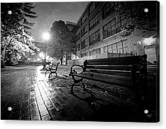 Acrylic Print featuring the photograph Emptiness by Everet Regal
