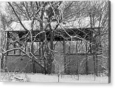 Empty Barn Acrylic Print by Melanie Guest