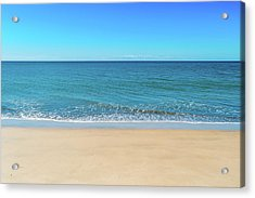 Empty Beach Acrylic Print
