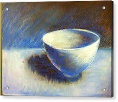 Empty Bowl Acrylic Print by Jeff Levitch