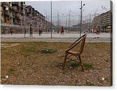 Empty Chair Acrylic Print