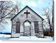 Empty Church Acrylic Print