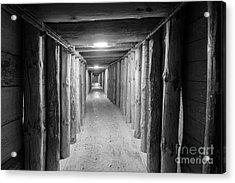 Acrylic Print featuring the photograph Empty Corridor by Juli Scalzi