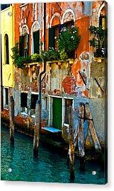 Empty Dock Acrylic Print