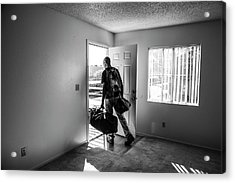 Acrylic Print featuring the photograph Empty by Eric Christopher Jackson
