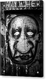 Empty Eyes Acrylic Print by Matthew Blum