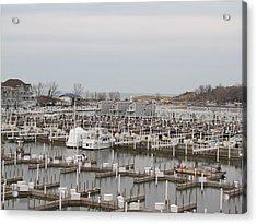 Empty Harbor Acrylic Print