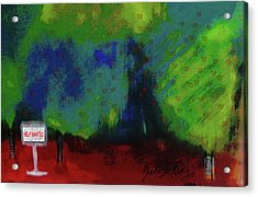 Empty Orchard Acrylic Print