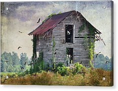 Empty Spaces Acrylic Print by Jan Amiss Photography