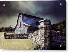 Empyrean Estate Stone Wall Acrylic Print