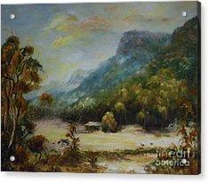 Emu Plains, Grampians Acrylic Print