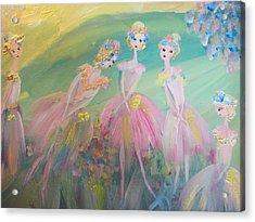 En Plein Air Ballet Acrylic Print