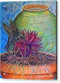 En Route Acrylic Print by Kim Jones