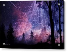 Enchanted By Your Love Acrylic Print by Joy Gerow