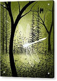 Enchanted Acrylic Print by Charlene Zatloukal