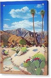 Enchanted Desert Acrylic Print