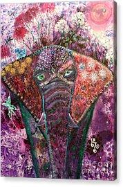 Enchanted Elephant Acrylic Print