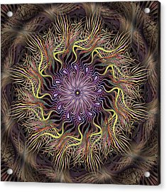 Enchanted Florist Acrylic Print