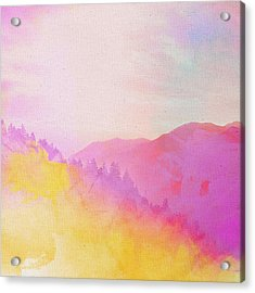 Acrylic Print featuring the digital art Enchanted Scenery #2 by Klara Acel
