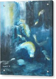 Enchanted Sea Acrylic Print by Halle Treanor