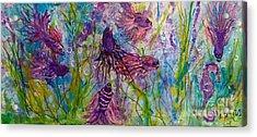 Enchanted Sealife Party Acrylic Print