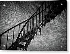 Enchanted Staircase II - Currituck Lighthouse Acrylic Print