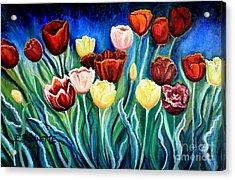 Enchanted Tulips Acrylic Print